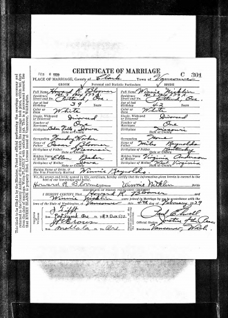 Effie Reynolds Marriage