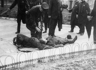 New York 1908 Anarchist Bombing