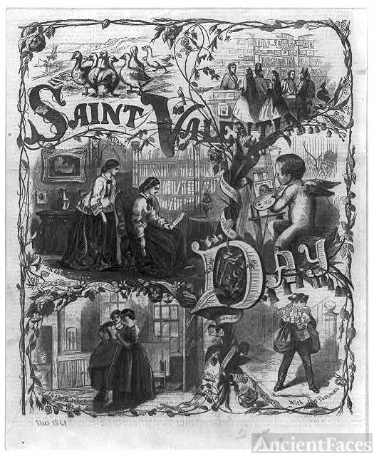 Saint Valentine's Day - 1861