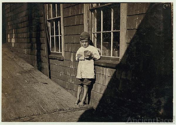 Maine child worker