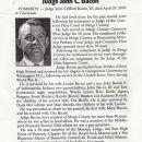 John C Bacon Obituary
