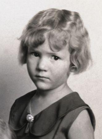 A photo of Estella Marie Louise Hueners