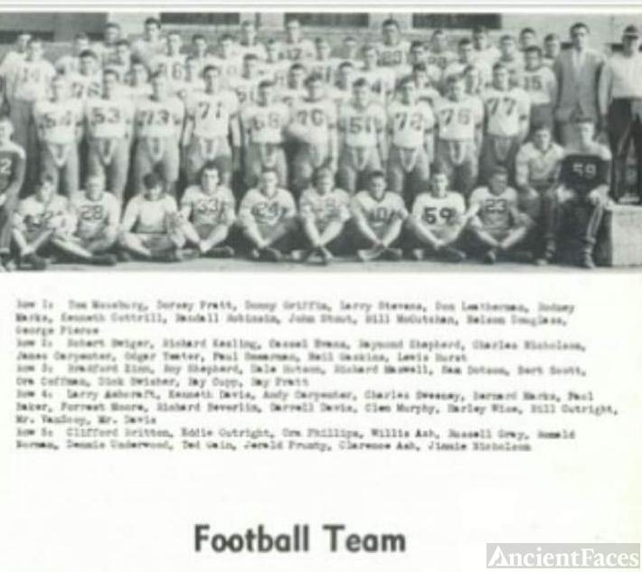 Richard L Beverlin, Football
