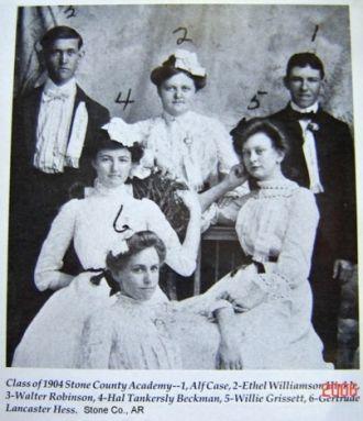 AR., STONE CO: Class of 1904, AR Academy