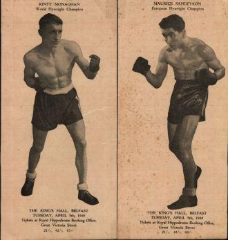 John Joseph (Rinty) Monaghan, boxer