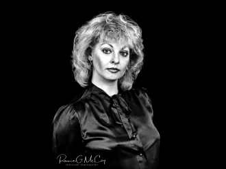 Actress Joy Garrett