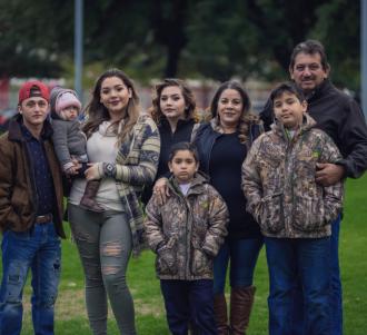 Ignacio and Nora E. (Flores) Robles Family