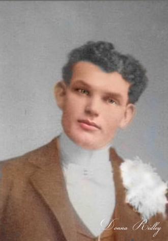 A photo of Joseph Ridley