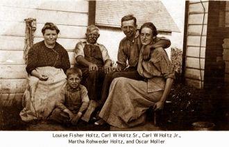 Holtz Family, Iowa 1916