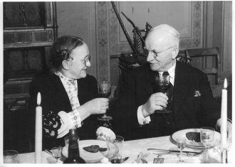 Oliv and Paul Øvergaard