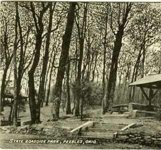 Peebles. Ohio Rest Stop
