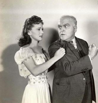 Jan Clayton and Grant Mitchell