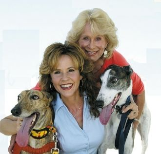Gretchen Patricia Wyler and Linda Blair