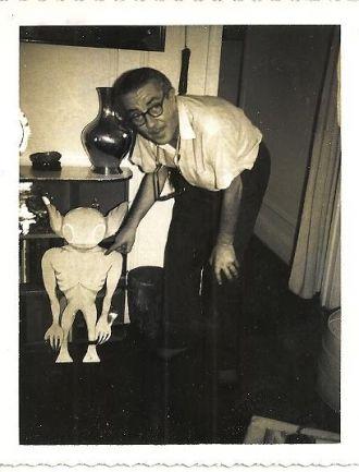 Ivan T. Sanderson and alien