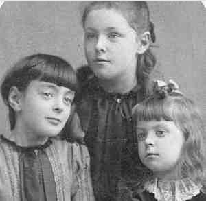 Sarah, Abbie, & Fannie Andres, NY