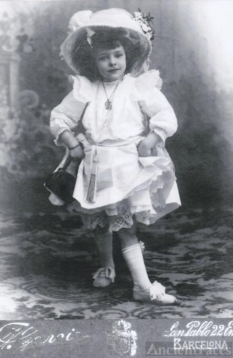 Maria Poirson Carbonell , 1908