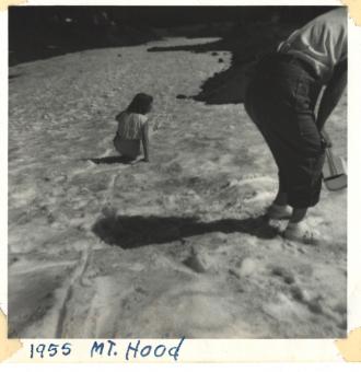 Mt. Hood Oregon 1955