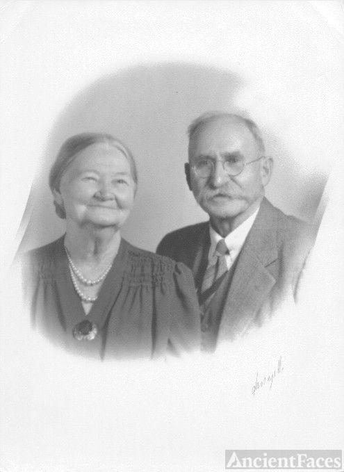 Aunt Alta Draper Johnson & Uncle Simon Johnson