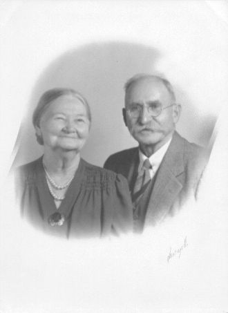 Aunt Alta Draper Johnson & Uncle Simon Johnson