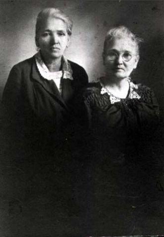 Mary Champion and sister Martha Jane Glidewell