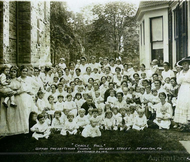Hickory St Presbyterian Church Cradle Roll Class