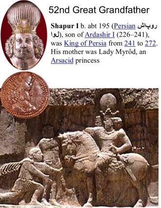 Shapur I King of Persia
