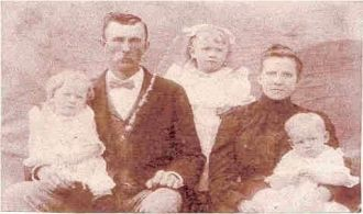 John Hadley Starnes and family