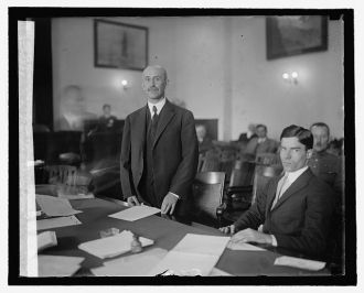 Orville Wright before Special Aviation Board, 10/12/25