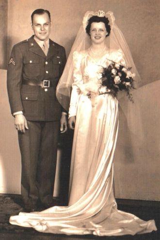 Janice Woodward &  Clarence Black, 1943