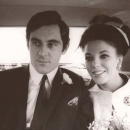 Anthony Newley and Joan Collins
