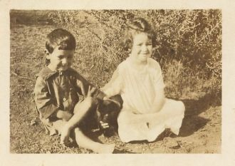 children Pauline and Herman Choate