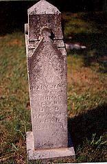 Mary Jane Glen Headstone