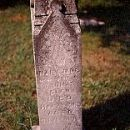 Mary Jane Glen Headstone