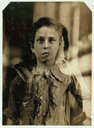 Composite photograph of child laborers