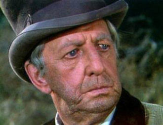 Ray Bolger in Little House on the Prairie