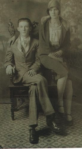 Ralph Campbell and Hazel Cyrus Campbell