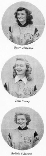Cheerleaders - Salinas Junior College 1946
