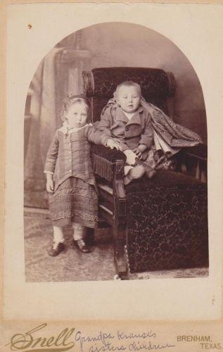 Grandpa Krause's sister's children