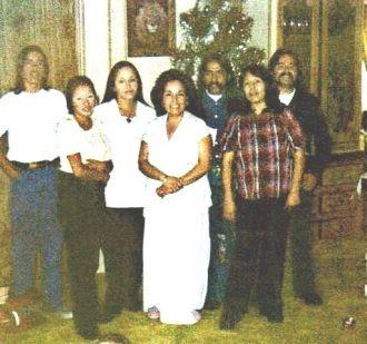 Virginia Espinoza & family
