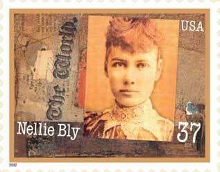 Nellie Bly stamp