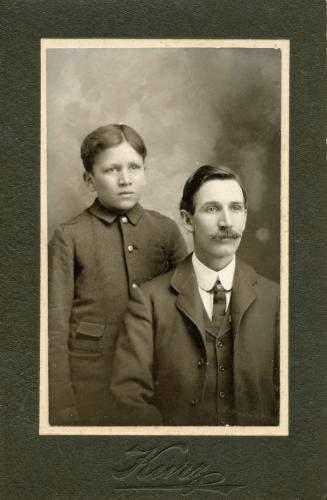 Ira Cornelius and Milo C.
