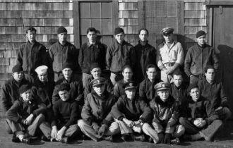 US Navy crew in Nova Scotia, Jan 1943