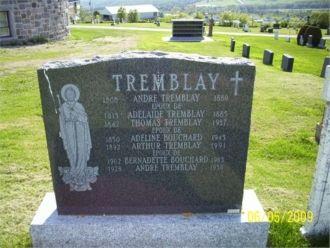 Adelaide Tremblay gravesite