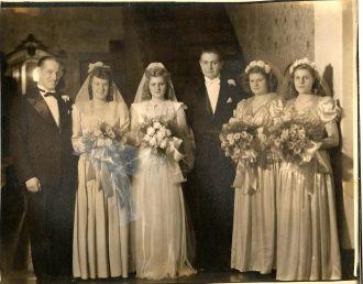 Donald E Bowker wedding