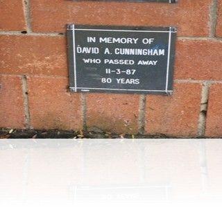 David Alexander Cunningham gravesite