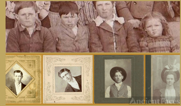 The Miller Siblings 1888 & 1896