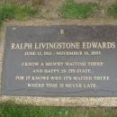 Ralph Livingstone Edwards Gravesite