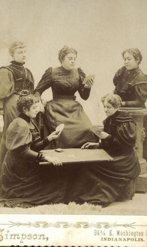 Five Brinkman or Young Women