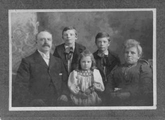 WILLIAM HENRY MADILL, WIFE & KIDS