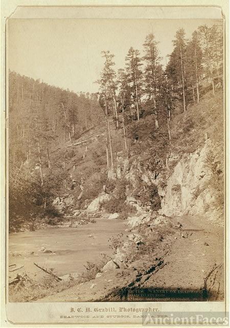 Scenery on Deadwood Road to Sturgis